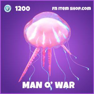 Man O war epic fortnite glider
