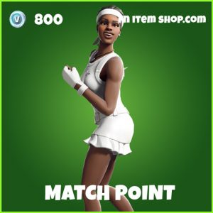 match point uncommon fortnite skin