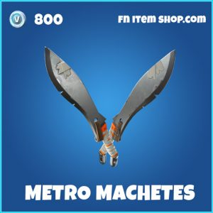 metro machetes rare fortnite pickaxe