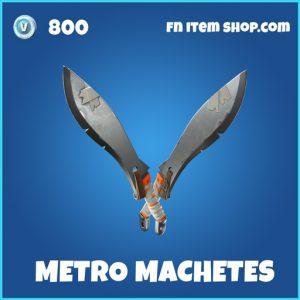 metro machetes rare fortnite pickaxe