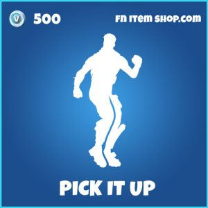 pick it up rare fortnite emote