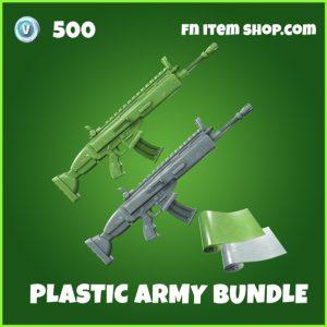 Plastic Army bundle wrap fortnite