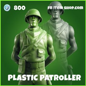 plastic patroller uncommon fortnite skin