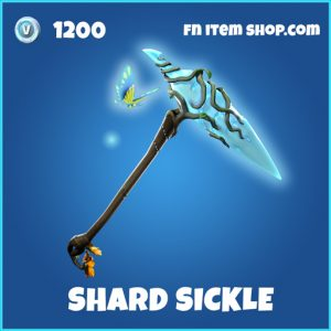 Shard sickle rare fortnite pickaxe