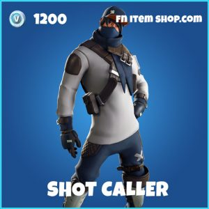 shot caller rare fortnite skin