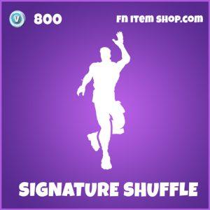 Signature shuffle epic fortnite emote