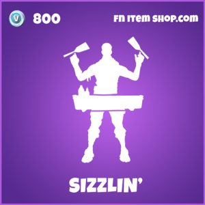 Sizzlin Epic fortnite emote