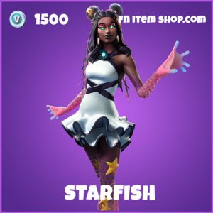 Starfish epic fortnite skin