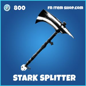 Stark Splitter rare fortnite pickaxe