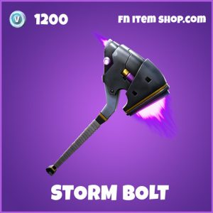 Storm Bolt epic fortnite pickaxe