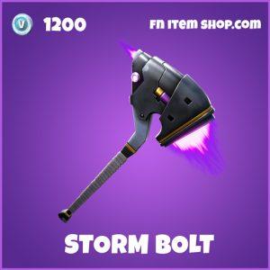 Storm Bolt epic fortnite pickaxe