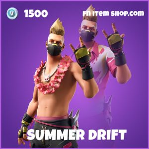 Summer Drift epic fortnite skin