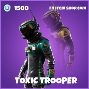toxic trooper epic fortnite skin
