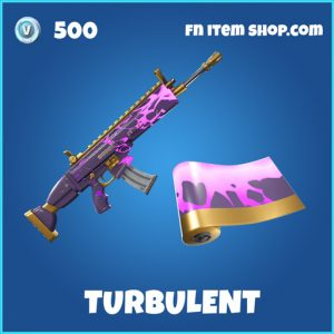 Turbulent rare fortnite wrap