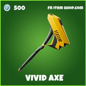 Vivid axe uncommon fortnite pickaxe