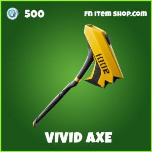 Vivid axe uncommon fortnite pickaxe