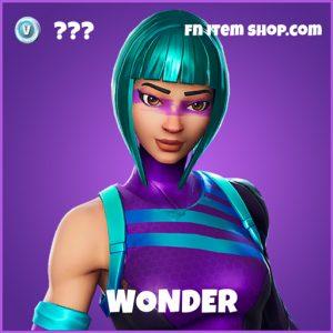 Wonder epic fortnite skins