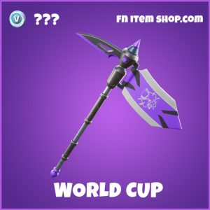 World Cup fortnite pickaxe