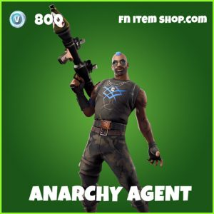 Anarchy Agent uncommon fortnite skin