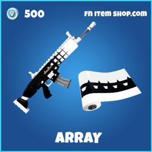 Array rare fortnite wrap