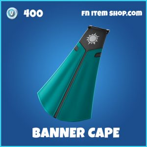 Banner Cape rare fortnite backpack