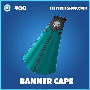 Banner Cape rare fortnite backpack