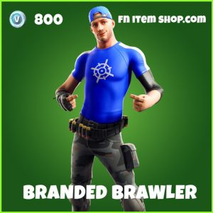 Branded brawler uncommon fortnite skin