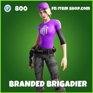 Branded Brigadier uncommon fortnite skin