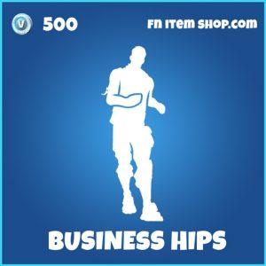 Business Hips rare fortnite emote