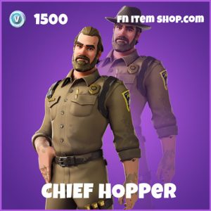 Chief Hopper epic fortnite skin