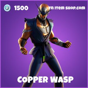 Copper wasp epic fortnite skin