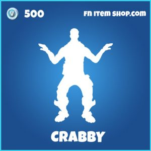 Crabby rare fortnite emote