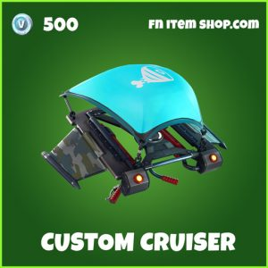 Custom Cruiser uncommon fortnite glider