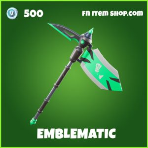 Emblematic uncommon fortnite pickaxe