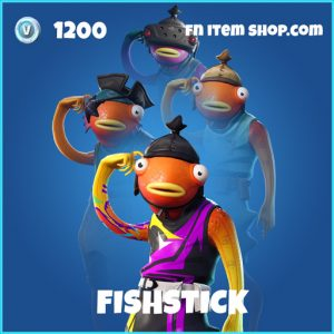 Fishstick Fade rare fortnite skin