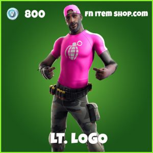 Lt. Logo uncommon fortnite skin