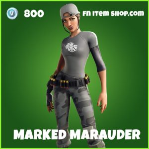 Marked Marauder uncommon fortnite skin