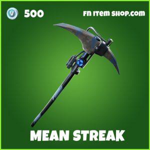 Mean Streak uncommon fortnite pickaxe