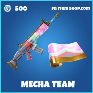 Mecah Team rare fortnite wrap