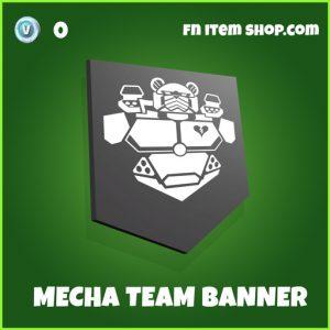 Mecha team banner uncommon fortnite banner
