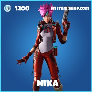 mika rare fortnite skin