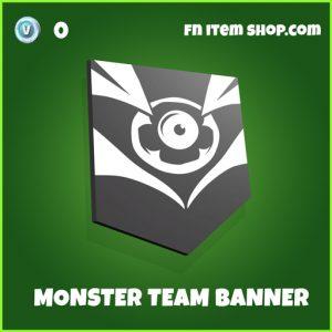 Monster team banner uncommon fortnite banner