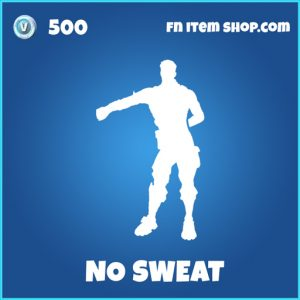 No sweat rare fortnite emote