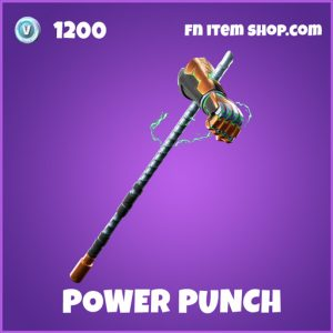 Power Punch epic fortnite pickaxe