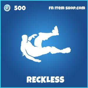 Reckless rare fortnite emote