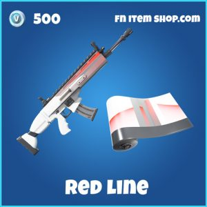 Red Line rare fortnite wrap