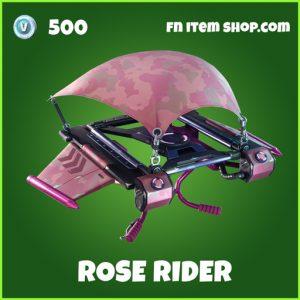 Rose Rider uncommon fortnite glider