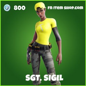 Sgt. Sigl uncommon fortnite skin