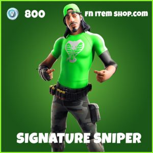 Signature Sniper uncommon fortnite skin