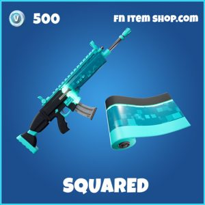 Squared rare fortnite wrap